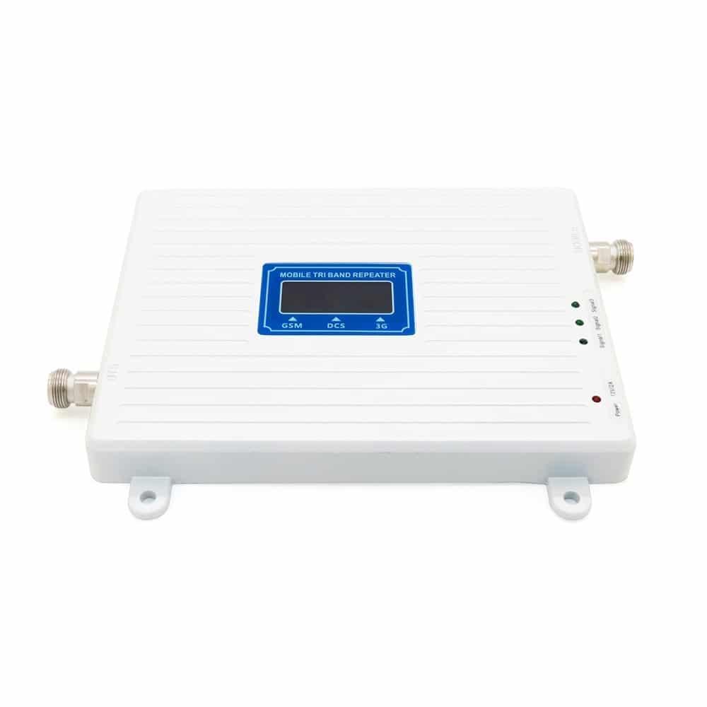 2g 3g 4g Tri Band Ripetitore di Segnale Set 900Mhz 1800Mhz 2100Mhz Del Telefono Mobile LTE ripetitore cellulare GSM WCDMA DCS Amplificatore antenna
