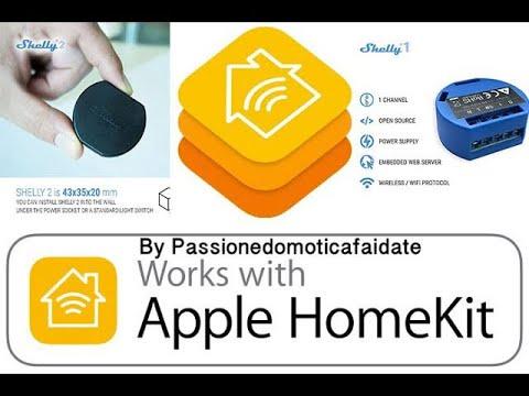 Shelly 1 V3 Relè Wireless firmware homekit